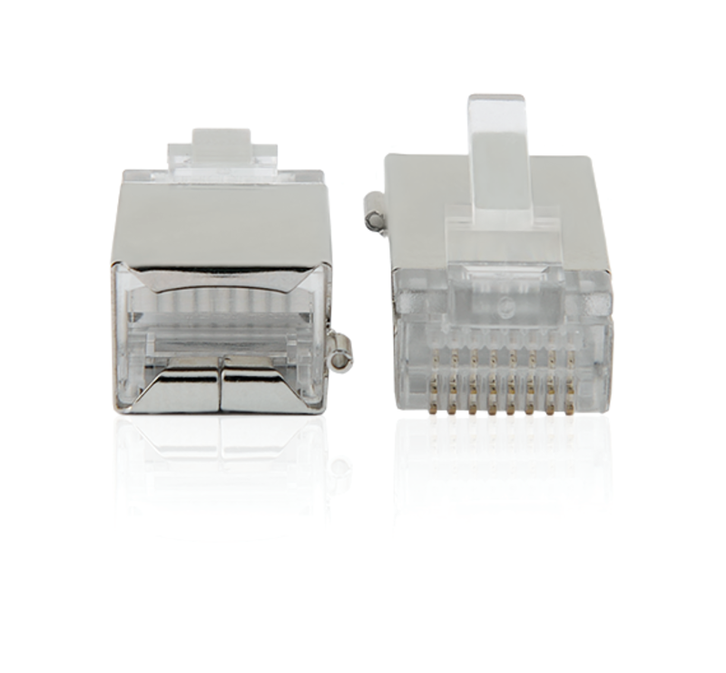 Shielded RJ-45 connector
