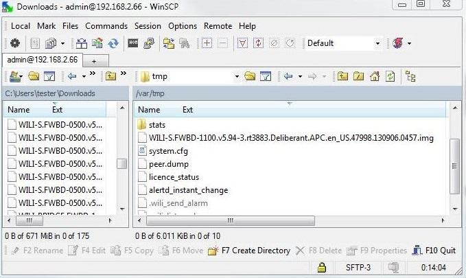 APC: Old firmware upgrade - LigoWave knowledge base