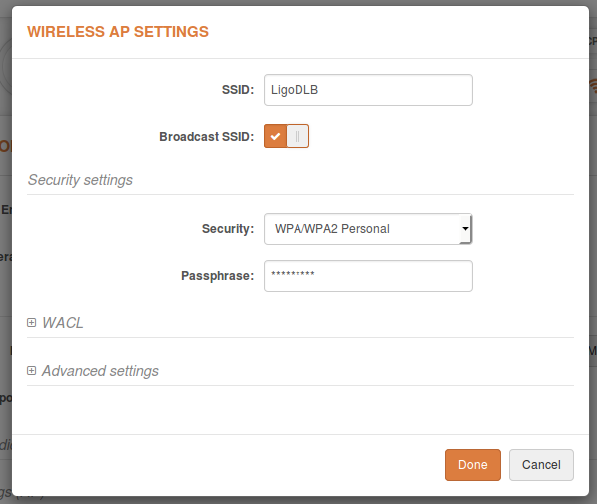 in the newly popped-up window, specify the security parameters for the ap  and check whether all of the necessary settings match those of the ap,